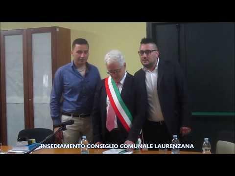 Preview video Video servizio insediamento consiglio comunale Laurenzana 8 giugno 2019