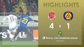 CL CAF : Wydad Athletic Club 4-1 Atlético Petróleos