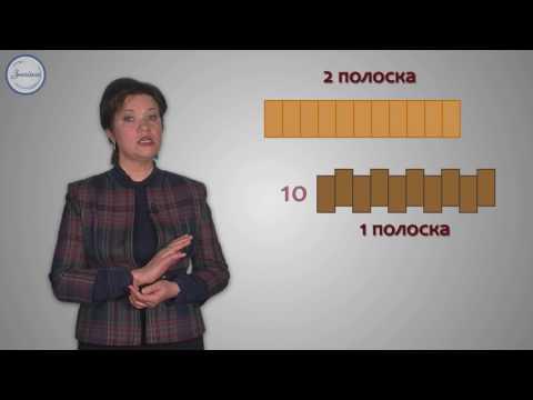 Сравнение площадей фигур с помощью мерок