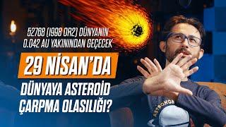 29 Nisan'da dünyaya asteroid çarpma olasılığı?