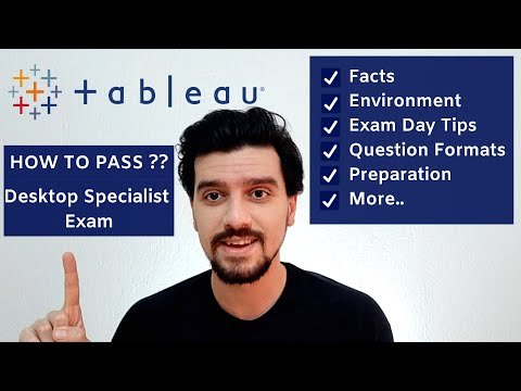 TABLEAU DESKTOP SPECIALIST CERTIFICATION EXAM : Facts ...