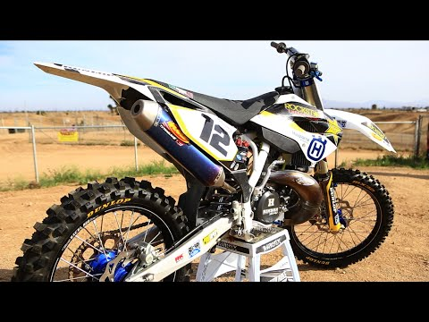 Project 2015 Husqvarna TC 300cc 2 stroke -  Motocross Action 2 stroke Builds