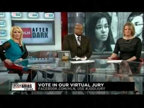 Meg Strickler on HLN After Dark discussing #jodiarias. No one can remember everything