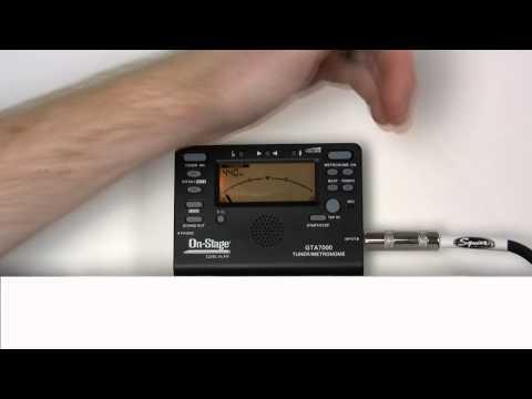 On-Stage GTA7000 Tuner, Metronome, Tone Generator