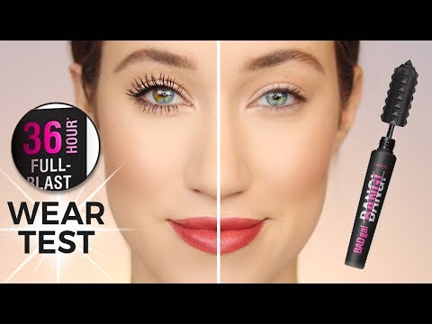 I Wore BADgal BANG Mascara For 36 Hours