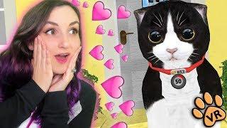 I Adopted A Kitten Named Konrad!! ...in VR
