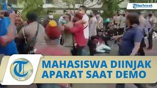 Video Mahasiswa Diinjak dan Diseret Aparat saat Demo di Kantor Bupati, Begini Respons Kapolres Alor