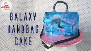 Galaxy Handbag Cake