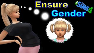 How to influence the Gender of a Pregnant Sim's Baby
