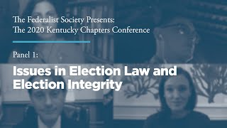 Click to play: Issues in Election Law & Election Integrity