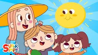 Mr. Sun, Sun, Mr. Golden Sun   Kids Songs   Super Simple Songs