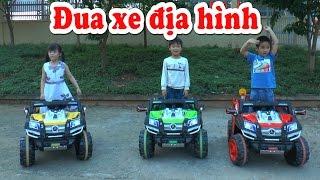 Dương đua xe cùng các bạn, Toy racing, Kênh Em Bé ♥
