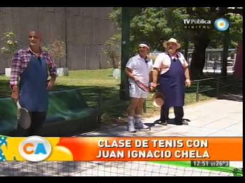 Clases de tenis con Juan Ignacio Chela