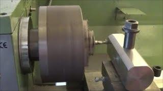 Come Forare E Fresare Sempre In Centro Sul Tornio [ How To Drill And Cut In Center On Lathe ]