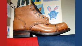 Создание ботинок по образцу американской рабочей обуви\ Replica of american work boots