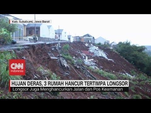 Longsor di Sukabumi, 1 Orang Tewas Tertimbun