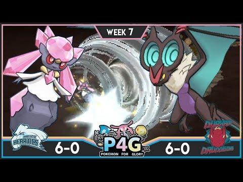 WHO WILL BE 7-0!?! Bronx Beartics vs D. Druddigons! P4G S3W7! Pokemon Ultra Sun & Moon Wi-Fi Battle