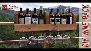 How To Build A Wine Rack | DIY Wine Rack Minwax Wood Stain