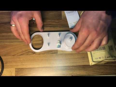 Zahnbürstenhalter für Oral-B Elektrozahnbürsten Poketech Ständer unboxing und Anleitung