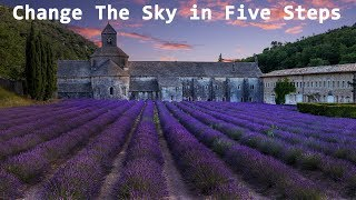 How to Change a Sky in Five Steps in Photoshop