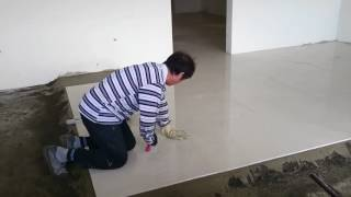 2016/12/30新家拋光石英磚;阿修大師工作實錄
