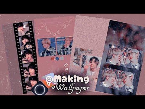 Download •°🌠°•wallpaper aesthetic tutorial 🍾making wallpaper 🍾lockscreen 🍾bts🍾picsart Mp4 HD Video and MP3