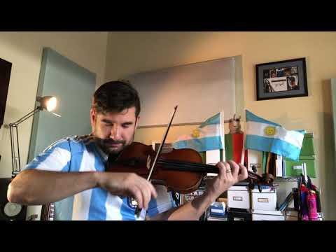 Himno Argentino para El Mundial!