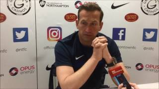 YOUTUBE: Justin Edinburgh says Neal Eardley may not be fit for Sunday: