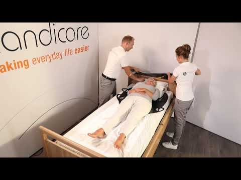 Applying a Sling with use of EasyGlide Oval and EasyGlide Oval mini