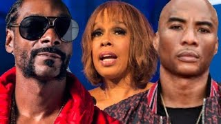 Snoop Dogg Clapped Back At Charlamagne Tha God For Defending Gayle King!