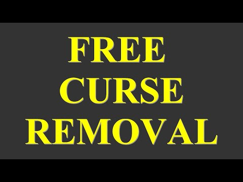 HOW TO REMOVE A CURSE IF YOU ARE CURSED WITH BAD LUCK