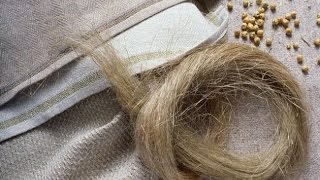Как делают льняную ткань. Процесс изготовления ткани из льна