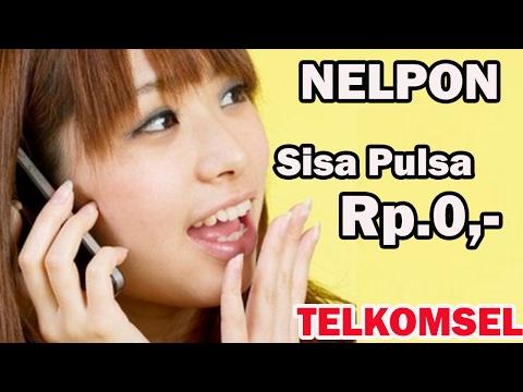 Video Cara NELFON Tanpa Pulsa (Rp.0,-) dg TELKOMSEL