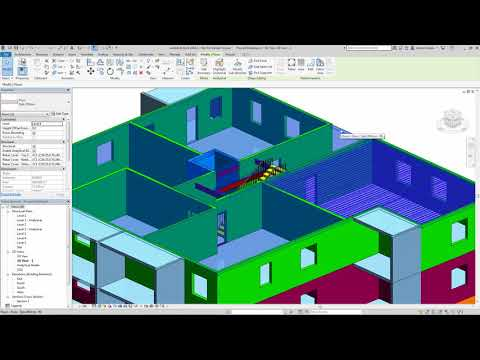 Revit 2019 Hollow Core Slabs Demonstration