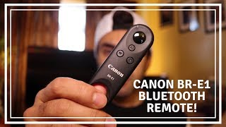 Hands-on with the Canon BR-E1 Wireless Remote Control