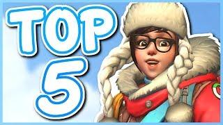 Overwatch - TOP 5 BEST MEI SKINS