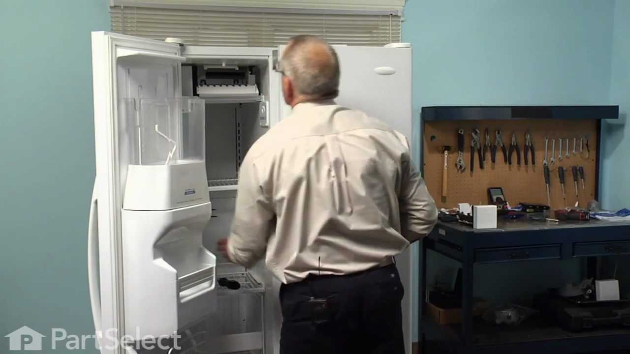 Replacing your Whirlpool Refrigerator Ice Maker Assembly -  8 Cube