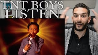 """VOCAL COACH reacts to TNT BOYS singing """"Listen"""" by Beyonce"""