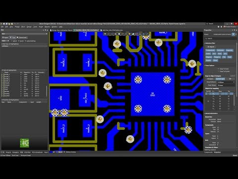 Learn Altium Essentials - Doing PCB Layout (Lesson 4) - Second ...