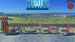 Cities: Skylines | Making A Sea Port !!! (Episode-16)
