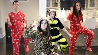 LITTLE GIRL TEACHES FAMILY A NEW DANCE! (JUJU ON THAT BEAT)