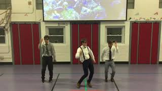 Check out Mr. Johnson's New Dance Video