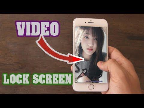 Cài video làm màn hình khóa iPhone - iPhone video to Live Wallpaper