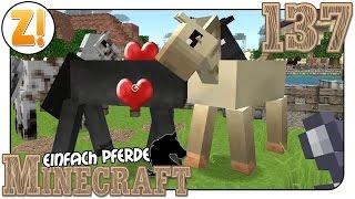 MINECRAFT HD Stall Pferde Und Mehr Lets Play Minecraft - Minecraft pferde spiele