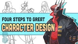 DESIGNING A CHARACTER (My Process And Things To Keep In Mind)