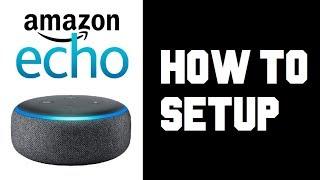 How To Set up Amazon Echo Dot - Echo Dot 3rd Generation Setup - Manual Wifi Setup Instructions