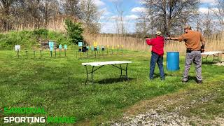Action Pistol Match at Sandoval Range, Illinois - Shooter 9