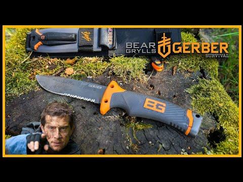 Mythos: Bear Grylls Ultimate Survival Knife - Messer Gerber Review