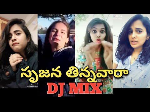Srujana Tinnava ra DJ fever || Mashup with Srujana audio clip || Worst videos