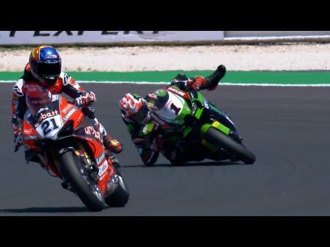 スーパーバイク 2021 第3戦イタリア ミサノ・ワールド・サーキット・マルコ・シモンチェリ 決勝のレース1ハイライト動画